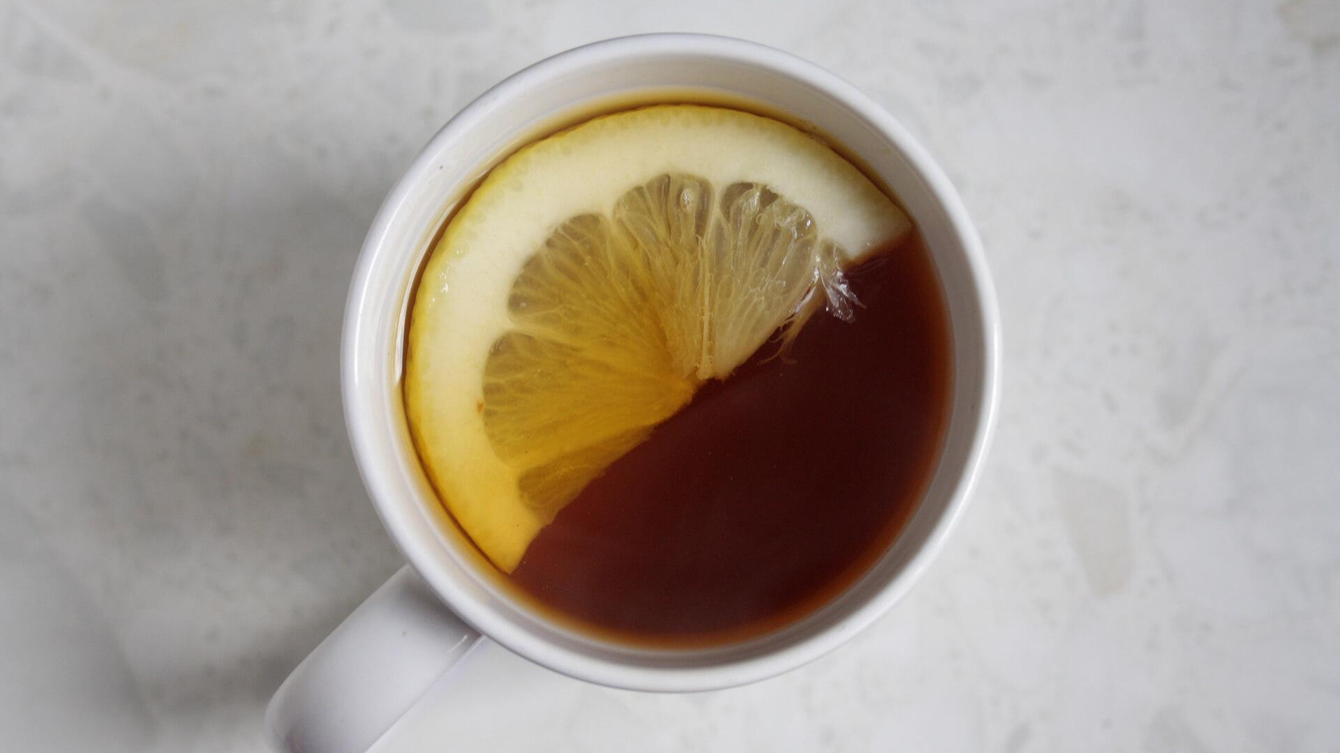 Lemon honey tea recipe