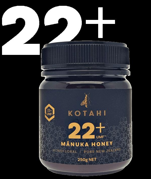 Kotahi Pure Mānuka Honey 22+