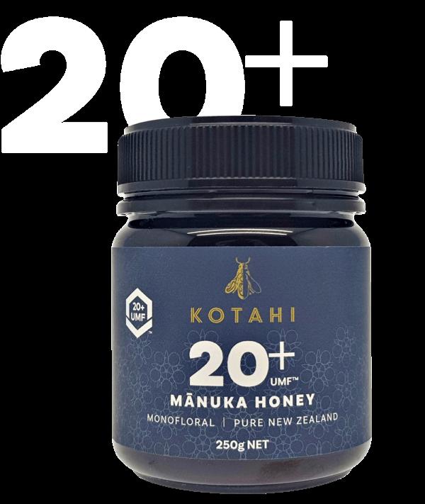 Kotahi Pure Mānuka Honey 20+